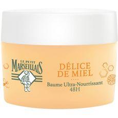 LE PETIT MARSEILLAIS Délice de Miel baume ultra-nourrissant au miel de Haute-Provence 50ml