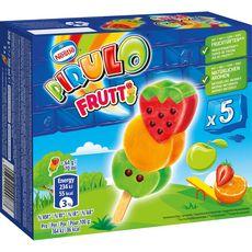 PIRULO Frutti bâtonnet glacé aux fruits 5 pièces 320g