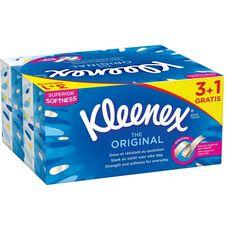 Kleenex Boîtes de mouchoirs original 4x80
