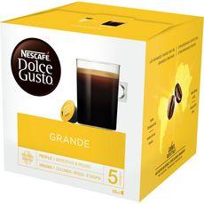 DOLCE GUSTO Capsules de café grande 16 capsules 128g