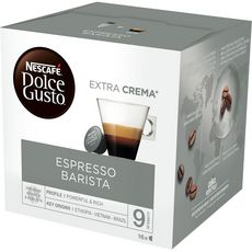 DOLCE GUSTO Capsules de café espresso barista 16 capsules 112g