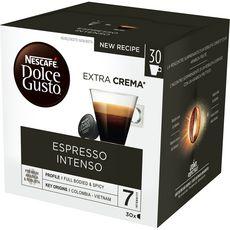 NESCAFE Capsules de café espresso intenso 30 capsules 210g