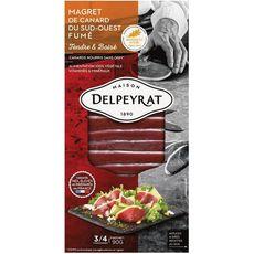 DELPEYRAT Delpeyrat Magret de canard du sud-ouest fumé 90g 90g
