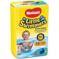 Huggies Little swimmers couches de bain taille 5-6 (12-18kg) x11