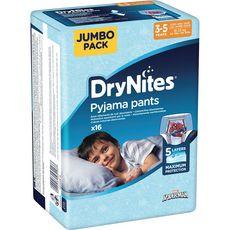 Huggies DryNites sous-vêtements de nuit garçons 3-5 ans x16