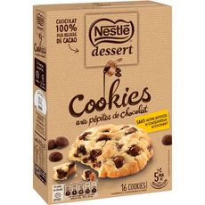 Nestlé NESTLE DESSERT Préparation pour cookies aux pépites de chocolat
