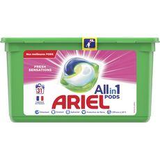 ARIEL Pods Lessive éco dose fresh pink 31 lavages 31 capsules