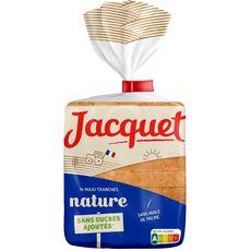 Jacquet Pain de mie nature sans sucres ajoutés