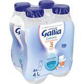 Gallia Gallia Calisma 3 lait de croissance liquide de 12 mois à 3 ans 4x1l