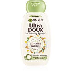 ULTRA DOUX Shampooing hydratant lait d'amande bio cheveux déshydratés 250ml