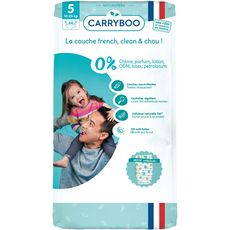 Carryboo Couches écologiques dermo-sensitives taille 5 (12-25kg) x44