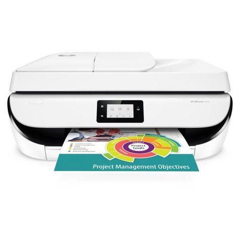 HP Imprimante OfficeJet 5232 WiFi Blanc