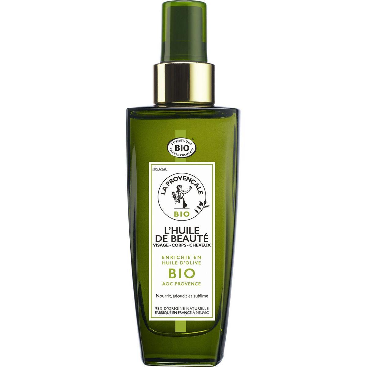 La Provençale Bio Huile de beauté visage corps et cheveux 100ml