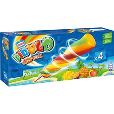 PIRULO Bâtonnet glacé goût tropical 4 pièces 320g