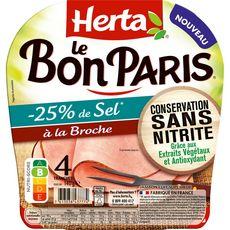 Herta Bon Paris Jambon csn broch tsr 4t-140g