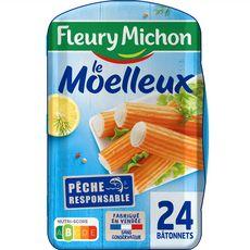 FLEURY MICHON Le Moelleux surimi 24 pièces 384g