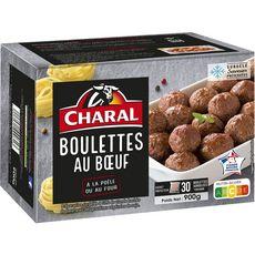 CHARAL Charal Boulettes au boeuf et à l'oignon 750g 30 pièces 750g