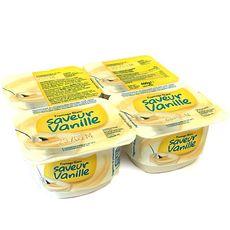 DISCOUNT Fromage frais à la vanille 4x100g