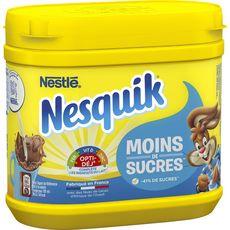 NESQUIK Chocolat en poudre moins de sucres 350g