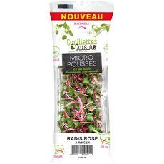 Mandar micro pousses de radis rose 11g