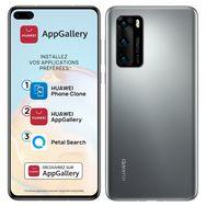 HUAWEI Smartphone P40 128 Go 6.1 pouces Silver 5G Double port NanoSim + e-SIM