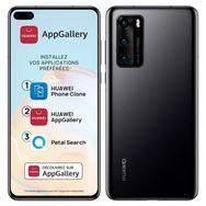 HUAWEI Smartphone P40 128 Go 6.1 pouces Noir 5G Double port NanoSim + e-SIM