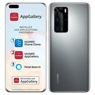 HUAWEI Smartphone P40 Pro 256 Go 6.58 pouces Silver 5G Double port NanoSiM + e-SIM