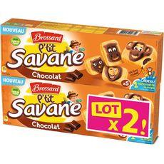 Brossard Gâteaux fourrés au chocolat 2x5 -300g