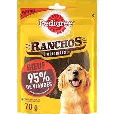 PEDIGREE Ranchos Original Friandises au boeuf pour chiens 70g