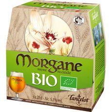 LANCELOT Morgane Bière blonde 5,5% bouteilles 6x25cl