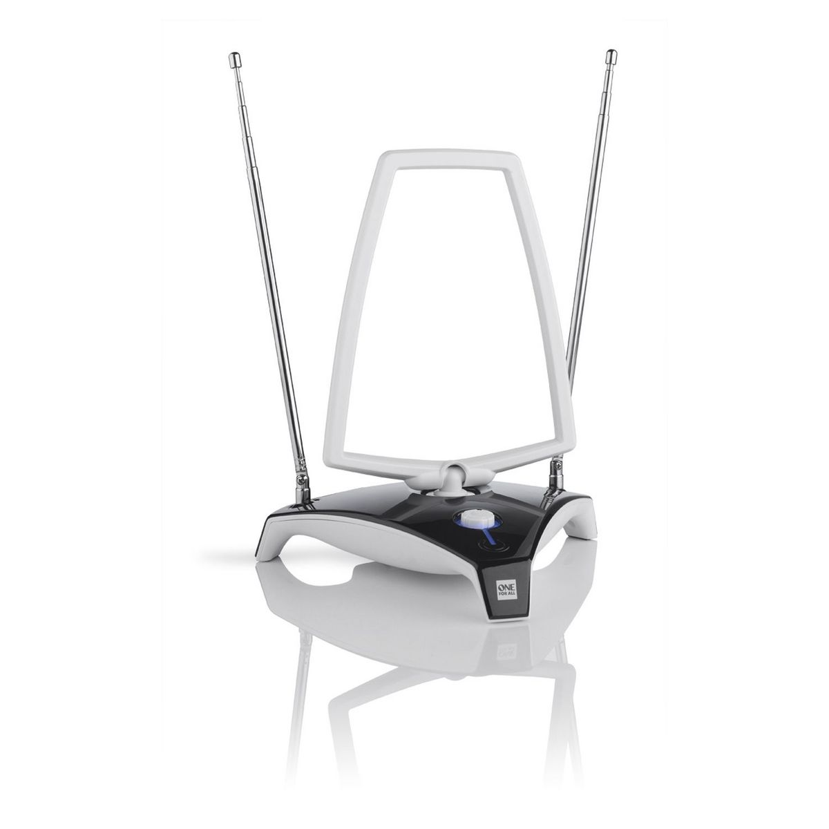 Antenne TV d'intérieur - Blanc/Noir - SV 9360