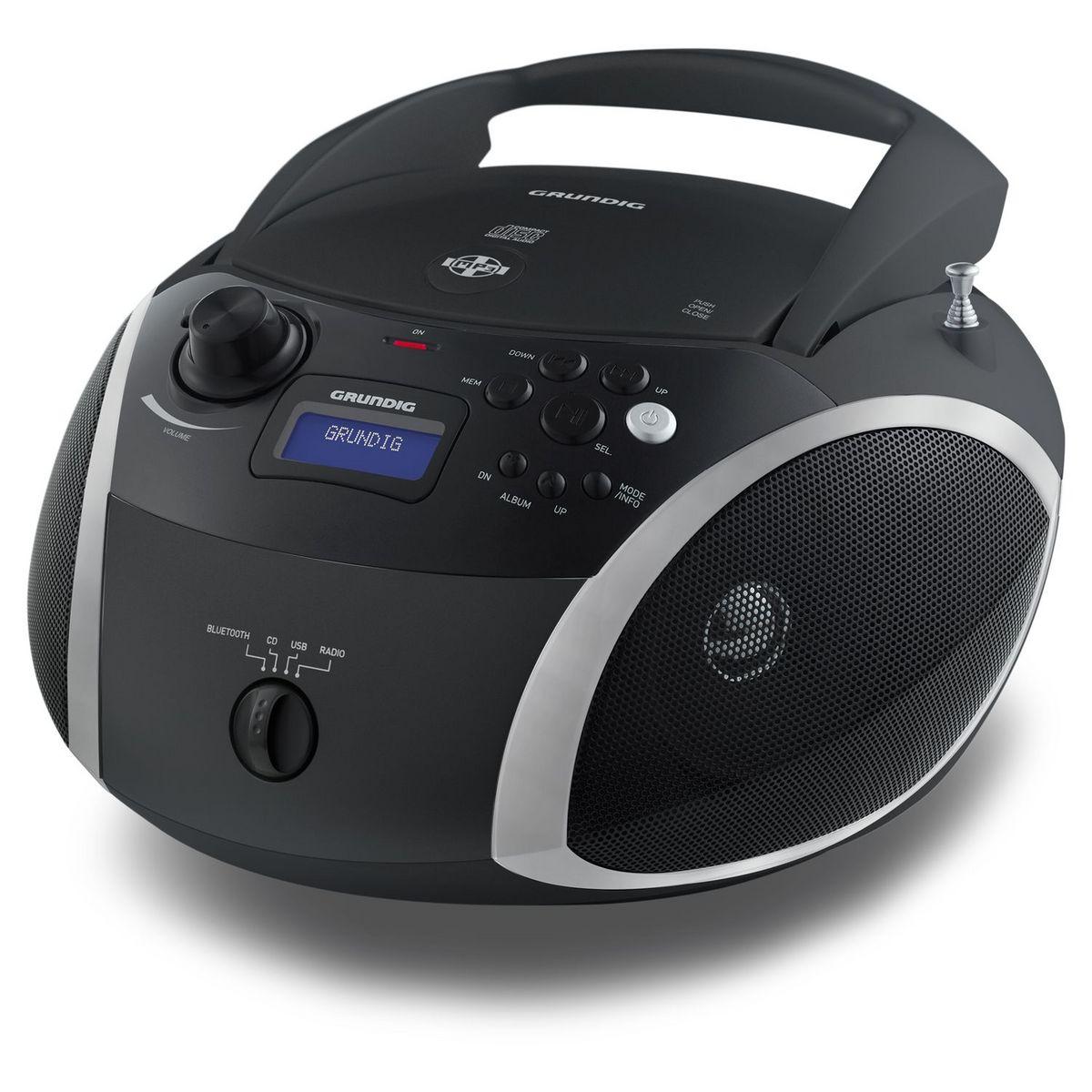 Radio CD/MP3/USB Bluetooth - Noir - RCD1500BTB