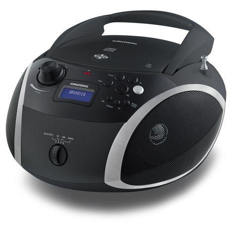GRUNDIG Radio CD/MP3/USB Bluetooth - Noir - RCD1500BTB