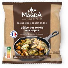 MAGDA Magda Les poêlées gourmandes Délice des forêts aux cèpes 2-3 parts 300g 2-3 parts 300g