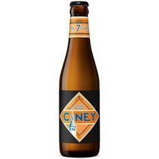 CINEY Bière blonde 7% bouteille 33cl
