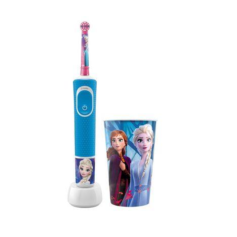 ORAL B Pack brosse à dents électrique Reine des neiges