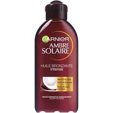 Garnier Ambre Solaire Huile bronzante intense à l'huile de coco 200ml