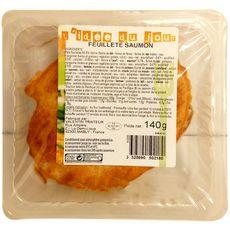Feuilleté au saumon 1 pièce 140g