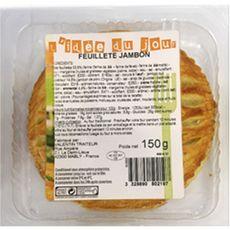 Feuilleté au jambon 1 pièce 150g