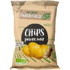 LA PARENTHESE BIO Chips poivre noir 125g