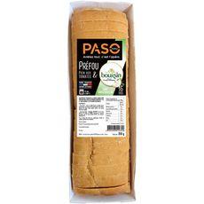 PASO Préfou pain aux tomates et boursin ail et fines herbes 16 tranches 350g