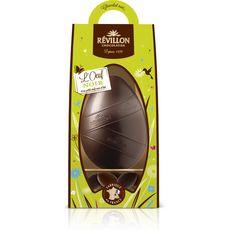 REVILLON CHOCOLATIER Oeuf chocolat noir et ses petits oeufs noir et lait 300g