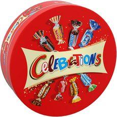 CELEBRATIONS Boîte métal, assortiment de confiseries au chocolat Edition limitée 435g