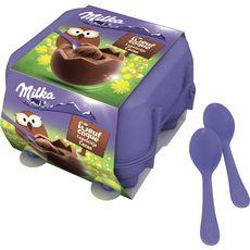 MILKA Milka œuf à la coque fourré cacao x4 -136g 136g