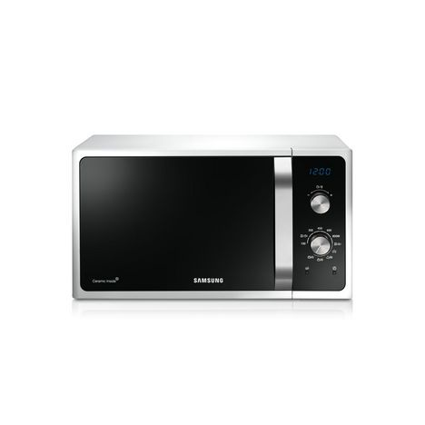 SAMSUNG Micro ondes gril MG28F303EAW - Blanc