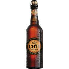 CH'TI Bière ambrée de garde 5,9% 75cl