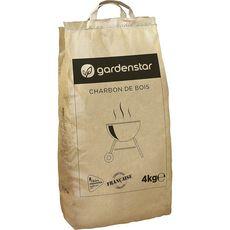Gardenstar Charbon de bois barbecue filière responsable 4kg