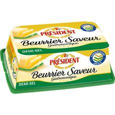 PRESIDENT Beurre Saveur gastronomique demi-sel 225g