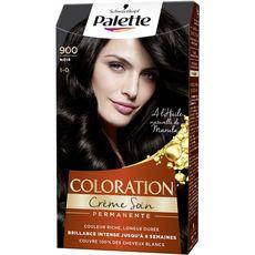 SCHWARZKOPF PALETTE Coloration crème soin permanente 900 noir 3 produits 1 kit