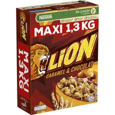 LION Céréales au caramel et chocolat 1,3kg